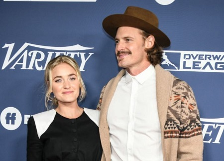 AJ Michalka & Josh Pence attended the Variety's Power of Young Hollywood party.