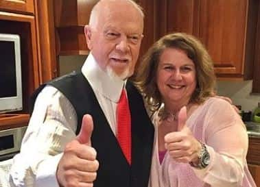 Don Cherry and second wife, Luba Cherry.