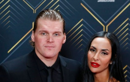 The longtime lovers, Donya and Robin Lehner married in 2014.
