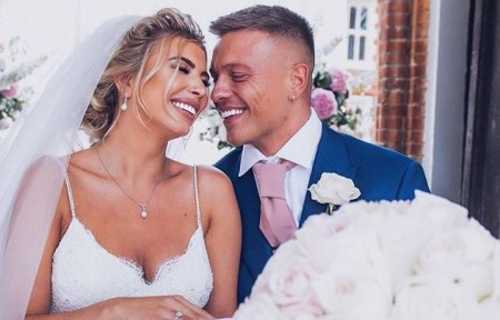 Olivia and her husband, Alex Bowen.