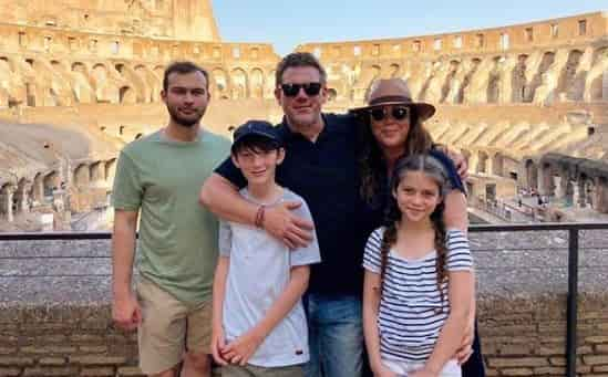 Tyler Florence family, kids and wife