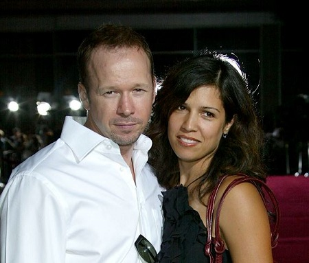 Elijah Hendrix Wahlberg parent's Donnie Wahlberg and Kimberly Fey were married from 1999 to 2008.