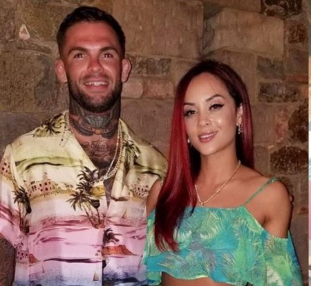 The model Danny Pimsanguan is married to the mixed martial artist Danny Garbrandt since July 2017.