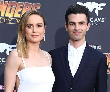 The musician Alex Greenwald was previously engaged with actress Brie Larson from 2016 to 2019.