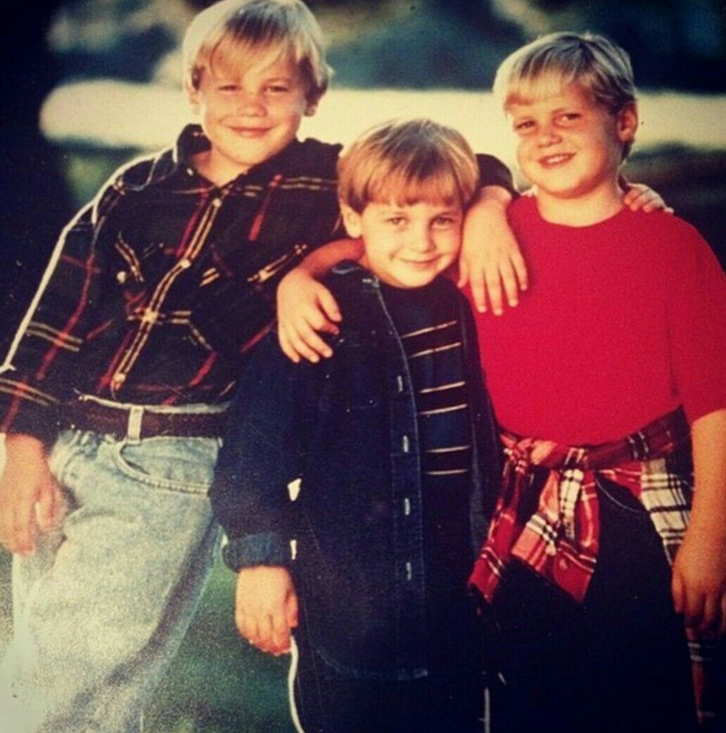33 years old, Kenneth(left) with his two younger brothers; Kevin(right), and Kendall(middle).