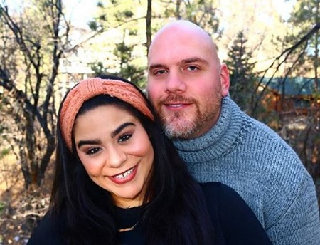 The On My Block actress Jessica Marie Garcia got engaged to her long-time boyfriend Adam Celorier in January 2016.