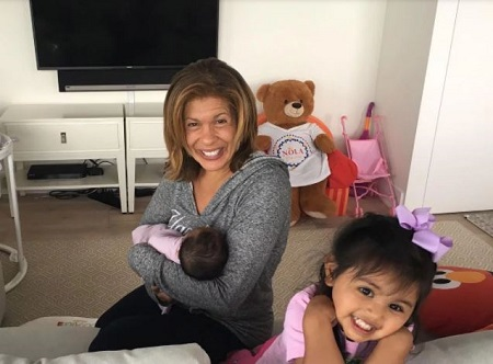 Haley Joy Kotb With Her Mother, Hoda Kotb and A Little Sister, Hope Catherine Kotb