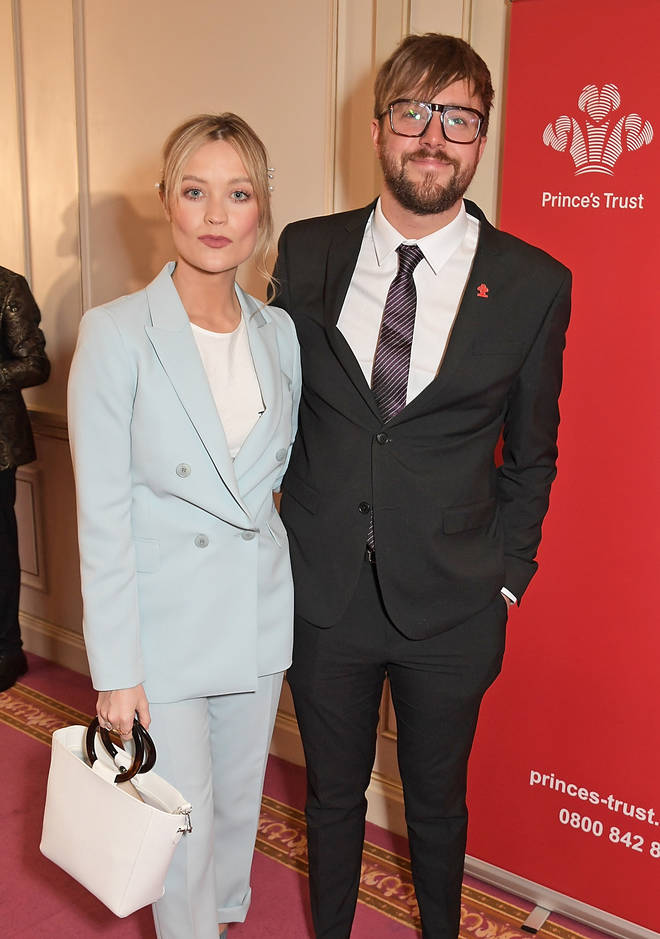 Iain Stirling with his beautiful partner, Laura Whitmore, attending an event together.
