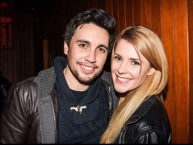 Chester See with his beautiful ex-girlfriend Grace Helbig.