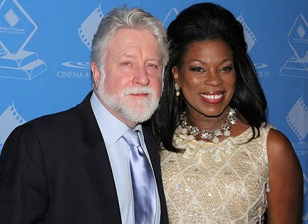 Michael Tomlinson Along With His Wife, Lorraine Toussaint