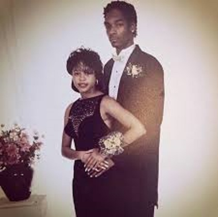 Shante Broadus and Snoop Dogg's Wedding Picture