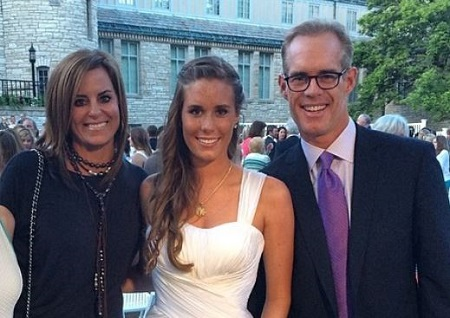 Natalie Buck's parents Ann Archambault (left) and Joe Buck were married from 1993 to 2011.