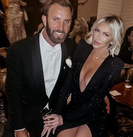 Dustin Johnson and the model Paulina Gretzky got engaged in August 2013.