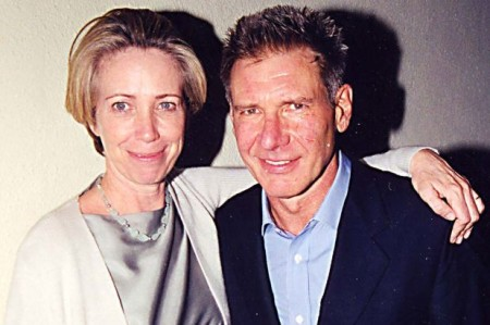 Harrison Ford and Melissa Mathison.