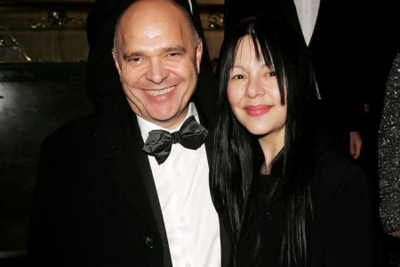 Anthony Mighella with his second wife, Carolyn Choa.