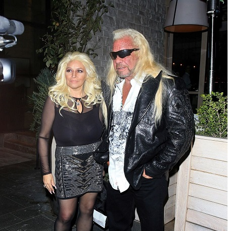 Duane Chapman With His Fourth Or Late Wife, Beth Smith
