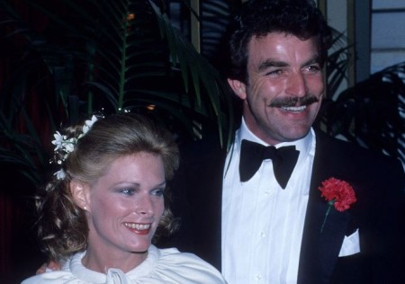 Tom Selleck and his first wife, Jacqueline Ray.