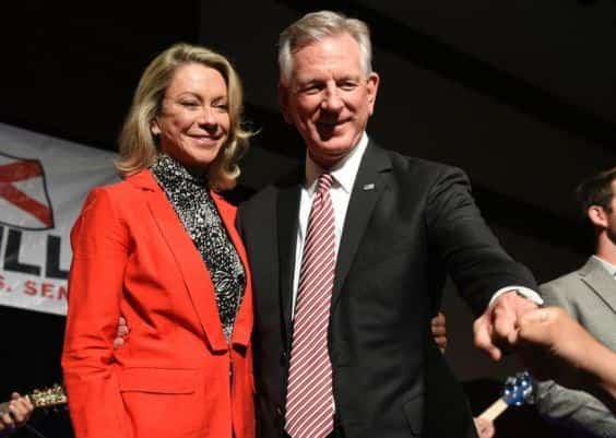 Senator Tommy Tuberville and wife