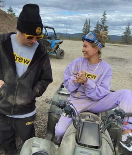 Justin Bieber and Hailey Baldwin photos