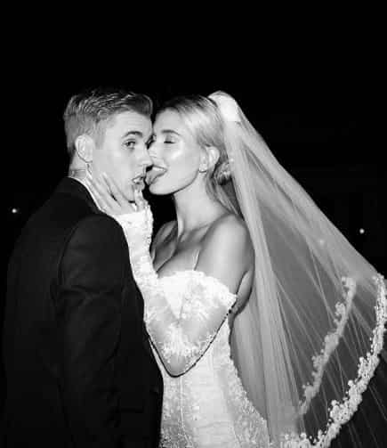 Hailey Baldwin and Justin Bieber's wedding pictures