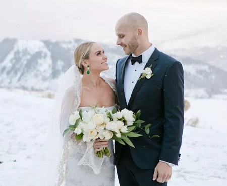 Becca Tobin and Zach Martin tied the wedding knot on December 3, 2016, in Jackson Hole, Wyoming.