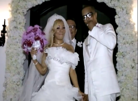 The Wedding Picture Of T.I. and Wife, Tameka Cottle