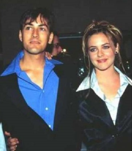 David Silverstone With His Younger Sister, Alicia Silverstone