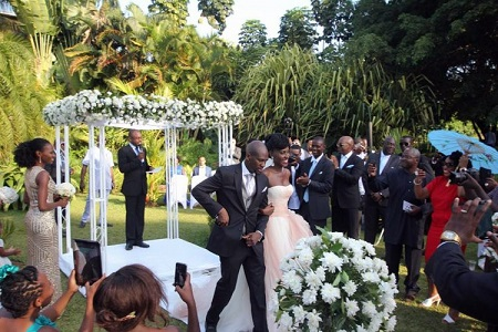 Seanice Kacungira and Fabian Adeoye Lojede Spent 150m On Their Wedding