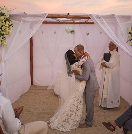 The Wedding Picture Of Naya Rivera and Ryan Dorsey