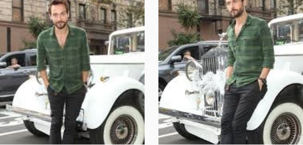 Tom Mison And His Expensive Ride
