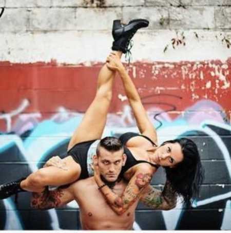 Amy Polinsky and Corey Graves