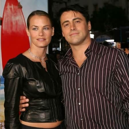 Melissa McKnight and her former husband Matt LeBlanc
