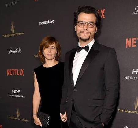 Sandra and Wagner in the premiere of Narcos