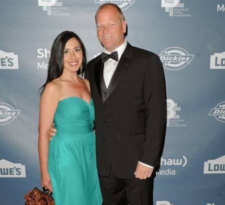 Alexandra Lorex's ex-husband, Mike Holmes with his current partner, Anna Zappia. Know more about their dating life.