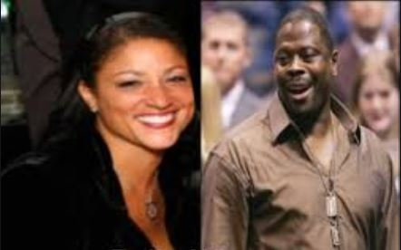 Rita Williams Ewing and Patrick Ewing in a photo collage