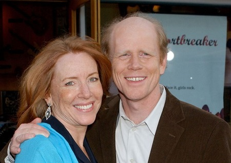Ron Howard along with his beloved wife Cheryl Alley.