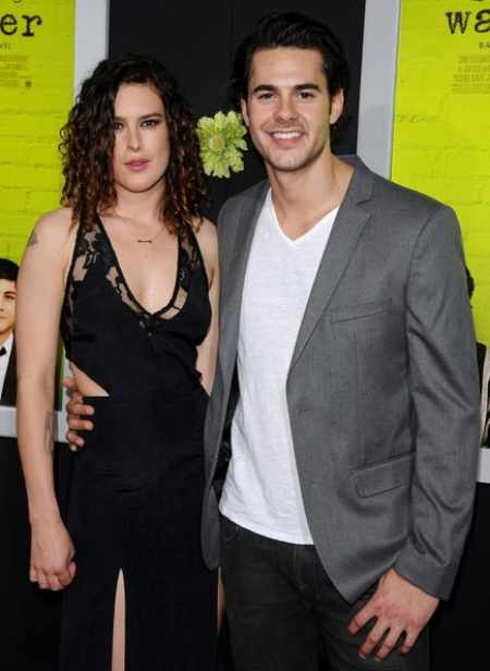 Rumer Willis with her ex-boyfriend, Jayson Blair. Know more about Willis' current relationship status?