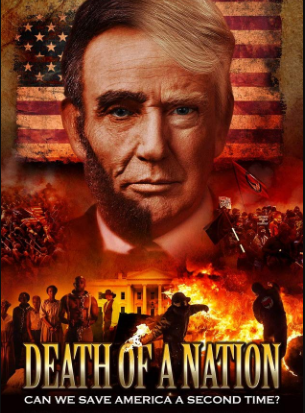 The movie poster of Dinesh's film Death of a Nation
