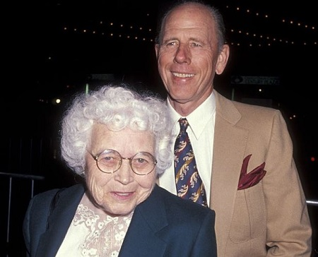 Late actor, Rance Howard, and his misses, Jean Speegle Howard.