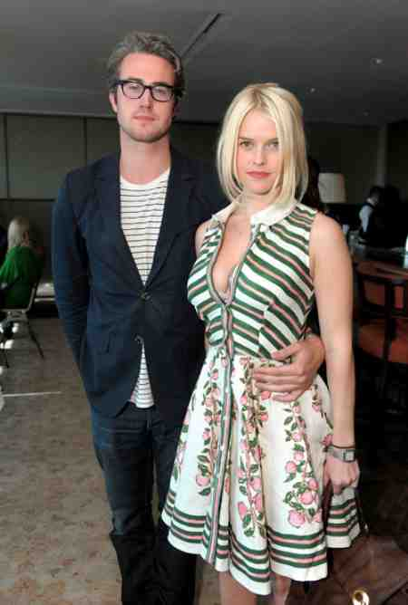 Alex Cowper-Smith's ex-wife, Alice Eve with her ex-boyfriend, Adam O'Riordan. Know more about Alex's estranged wife's dating history.