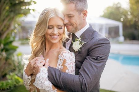 Louise Anstead's former husband, Ant Anstead with Christina Anstead during their nuptial. Find more interesting things about Louise Anstead.