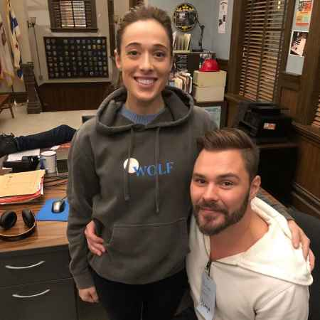 Eli Kay-Oliphant's estranged wife, Marina Teressa with her current partner, Patrick John Flueger. So, what's Eli's current marital status?