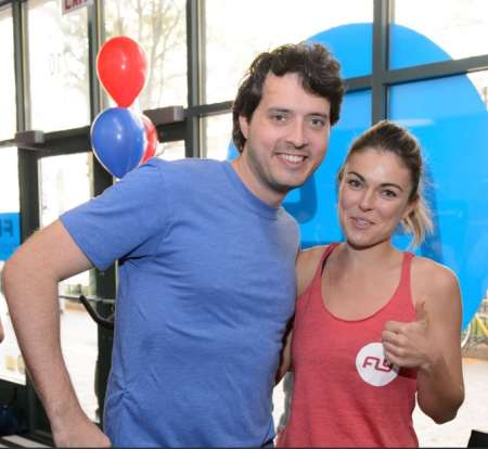 Eli Kay-Oliphant with his former Chicago P.D. co-actress, Serinda Swan. Are they currently dating or is it a dating rumor?