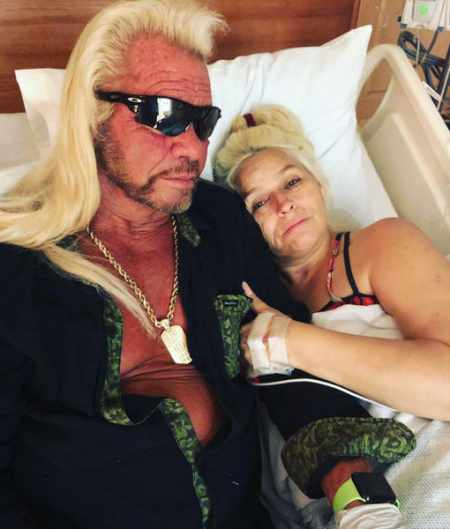 Duane Chapman with his fifth wife, Beth Chapman, who was diagnosed with throat cancer. Know more about Lyssa Rae Brittain's ex-husband, Duane's past marital relationships