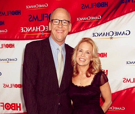 Diana R. Rhoten and  John Heilemann are married for over decade