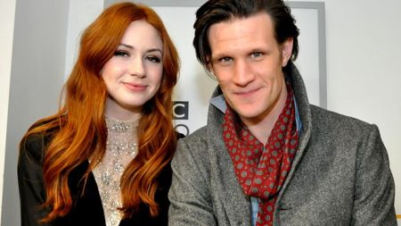 Karen Gillan and Matt Smith are on-screen couple of the series, Doctor Who