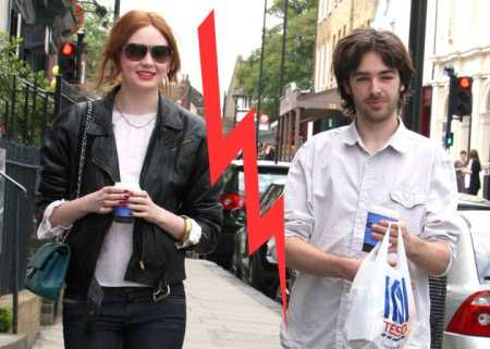 Karen Gillan with her ex-boyfriend, Patrick Geen. Want to know more about the couple's long term relationship?