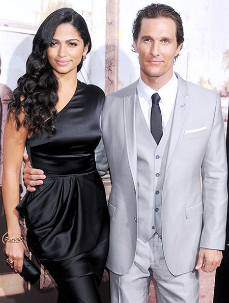 Camila Alves marries Matthew McConaughey on June 9, 2012, in Austin, Texas