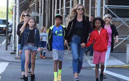 The children of Heidi Klum and her husband