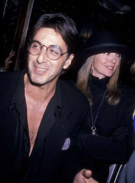 Al Pacino with his longtime girlfriend, Diane Keaton. Do you know about Olivia Pacino's current relationship status?